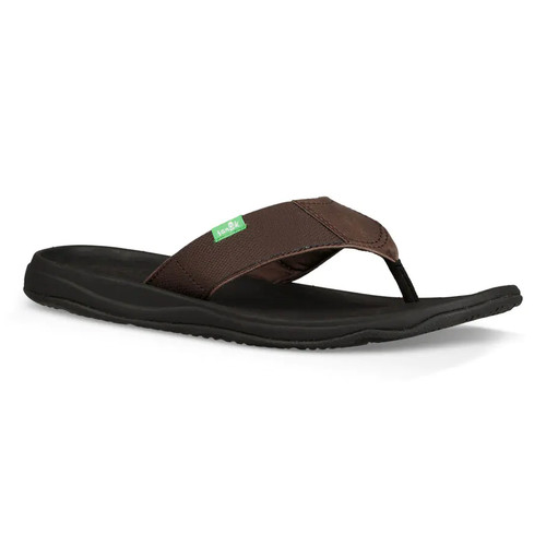 Sanuk Flip Flop - Tripper H20 Yeah - Dark Brown