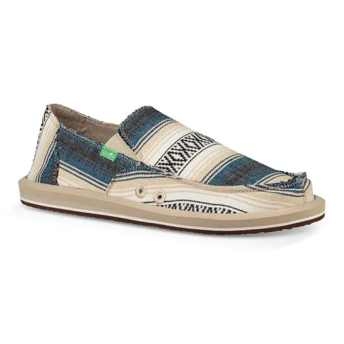 Sanuk Shoes - Donny Funk - Navy Baja Blanket