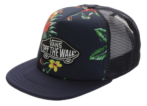 Vans Hat - Classic Patch Trucker Plus - Trap Floral