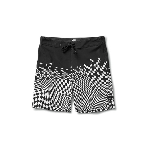"Vans Boardshort - Pixelated 19"" - Black"