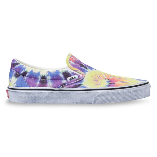 Vans Women's Shoes - Classic Slip-On - Tie Dye/True White