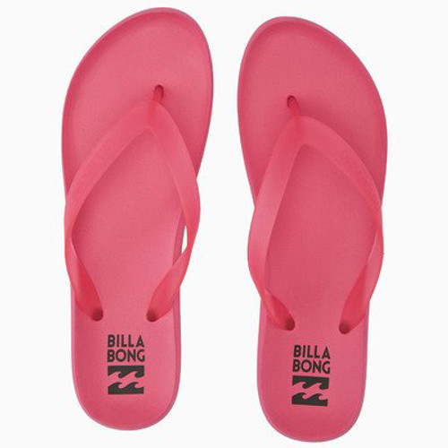 Billabong Women's Flip Flop - Beach Break - Coral Pink