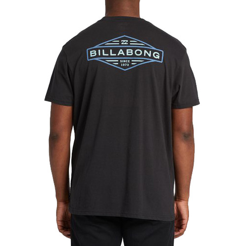 Billabong Tee Shirt - Autoshop - Black