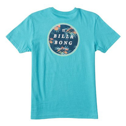 Billabong Boy's Tee Shirt - Rotor - Dark Mint