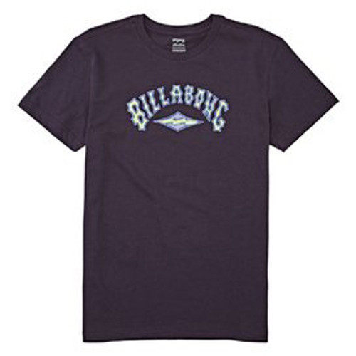 Billabong Boy's Tee Shirt - Arch - Indigo Purple