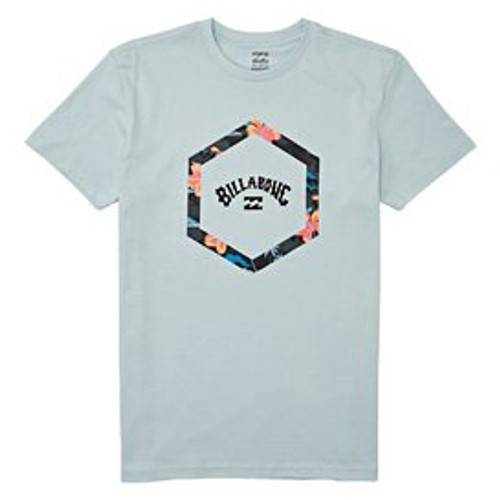 Billabong Boy's Tee Shirt - Access - Coastal Blue