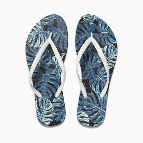 Reef Women's Flip Flop - Reef Escape Basic Prints - Green