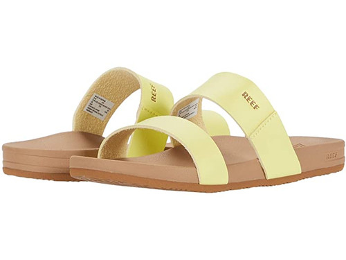 Reef Girls Flip Flop - Kids Cushion Bounce Vista - Lemonade
