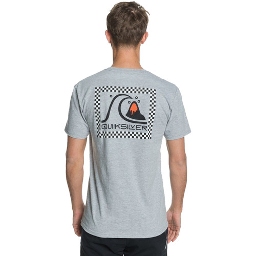 Quiksilver Tee Shirt - Bobble - Athletic Grey Heather