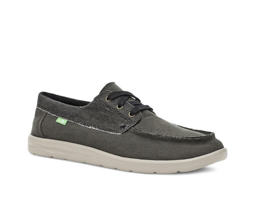 Sanuk Shoes - Skuner Lite LX - Washed Black
