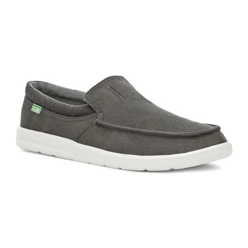 Sanuk Shoes - Hi Bro Lite - Washed Black