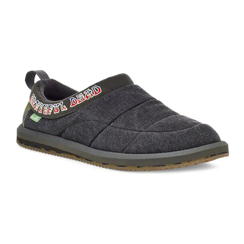 Sanuk Shoes - Puff N Chill Grateful Dead - Dark Brown/Tie Dye