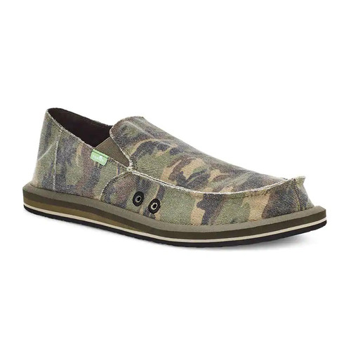 Sanuk Shoes - Vagabond Camo - Woodland