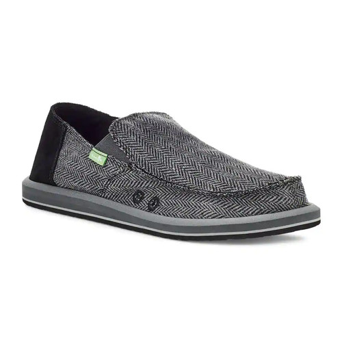 Sanuk Shoes - Vagabond Tweed - Grey