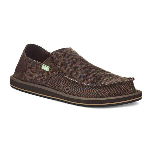 Sanuk Shoes - Vagabond Tweed - Brown