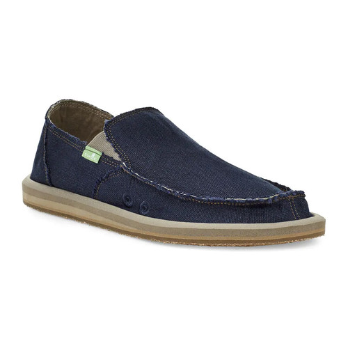 Sanuk Shoes - Vagabond Hemp Jute - Navy