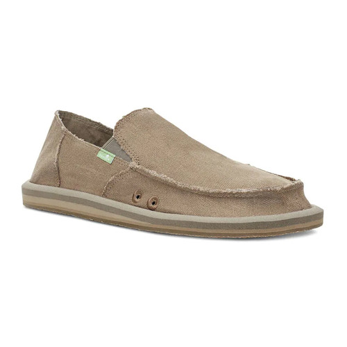 Sanuk Shoes - Vagabond Hemp Jute - Khaki