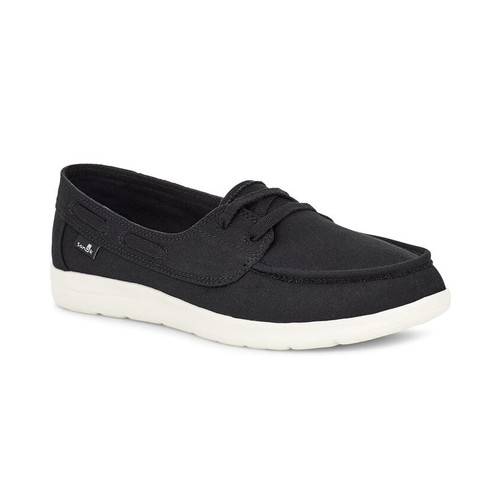 Sanuk Women's Shoes - Pair O Sail Lite TX - Black