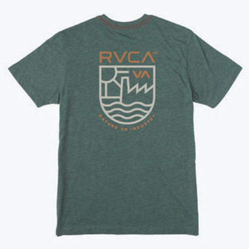 RVCA Tee Shirt - Dept Of Ind - Sequoia Green