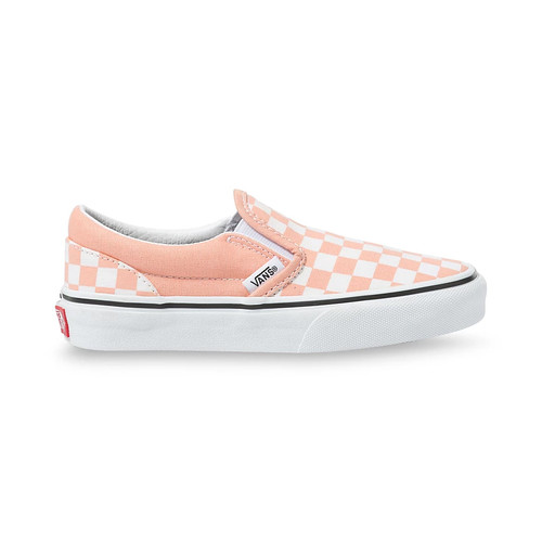 Vans Youth Shoes - Classic Slip-On - Salmon/True White