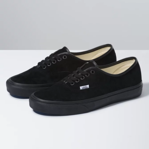 Vans Shoes - Authentic - Pig Suede/Black