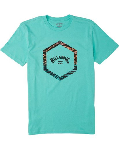 Billabong Boy's Tee Shirt - Access - Light Aqua