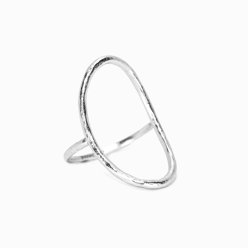 Pura Vida Ring - Oval Open - Silver