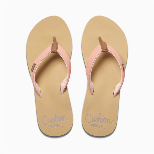 Reef Women's Flip Flop - Cushion Sands - Cantaloupe