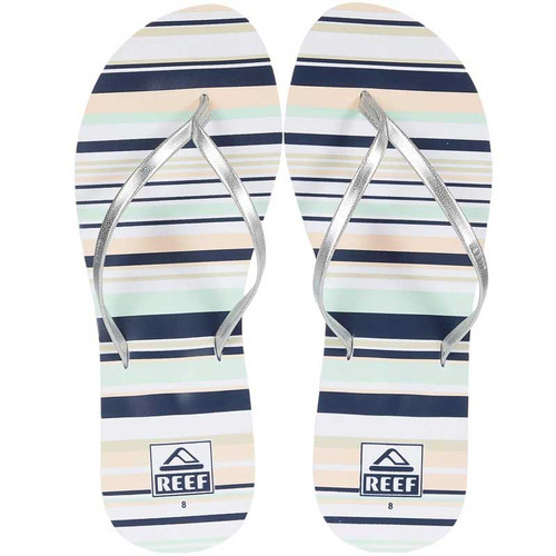 Reef Women's Flip Flop - Bliss-Full - Prep Stripe
