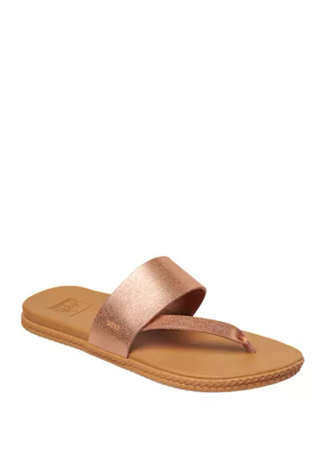 Reef Women's Flip Flop - Cushion Bounce Sol - Rose Gold