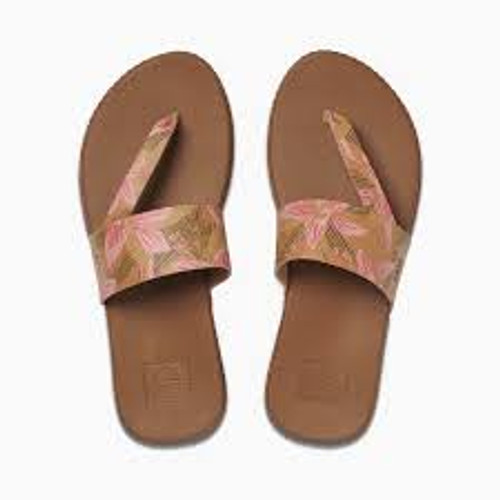 Reef Women's Flip Flop - Cushion Bounce Sol - Hibiscus