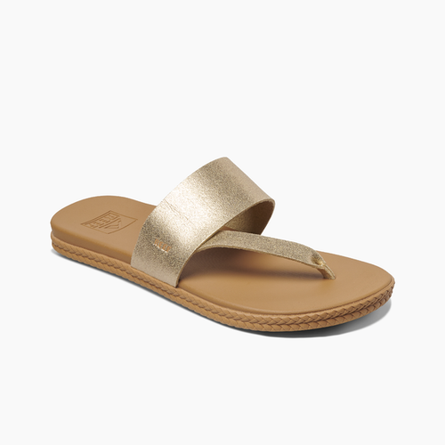 Reef Women's Flip Flop - Cushion Bounce Sol - Champagne