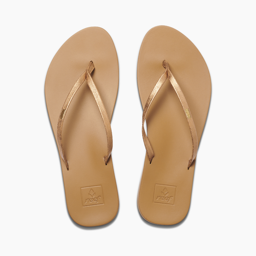 Reef Women's Flip Flop - Cushion Bounce Slim - Copper