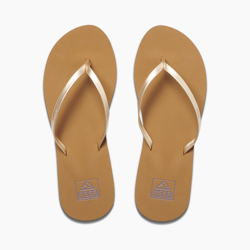 Reef Women's Flip Flop - Bliss Nights - Tan/Champagne