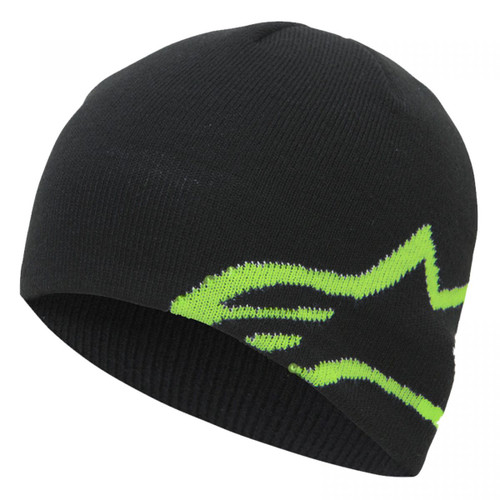 Alpinestar Beanie - Corp Shift - Black/Green