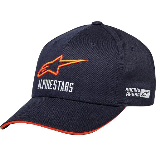 Alpinestar Hat - Oval Velo - Navy