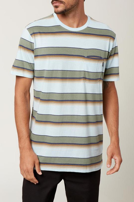O'Neill Tee Shirt - Smasher Crew - Light Blue
