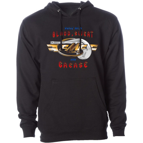 FMF Hoody - Blood Sweat Grease - Black