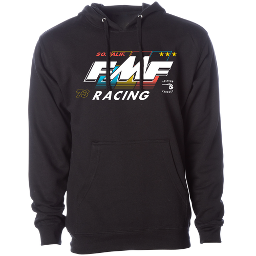 FMF Hoody - Retro - Black