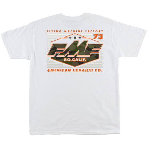 FMF Tee Shirt - Invisible - White