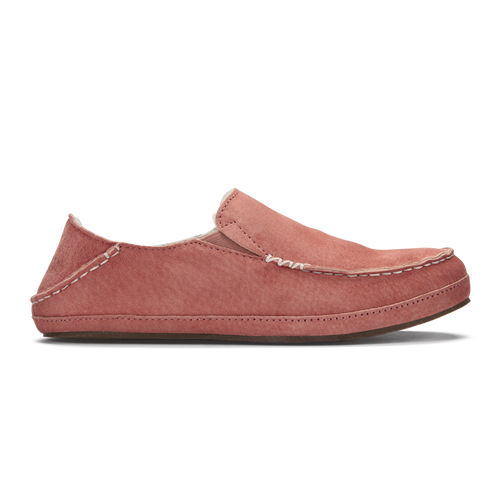 Olukai Women's Shoes - Nohea Slipper - Cedarwood/Cedarwood