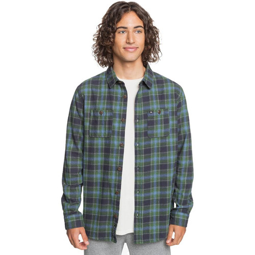 Quiksilver Flannel - Shadow Sets - Greener Pasture Shadow Sets