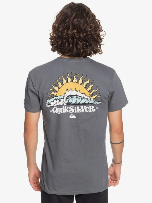 Quiksilver Tee Shirt - Kool Enough - Iron Gate