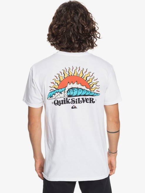 Quiksilver Tee Shirt - Kool Enough - White