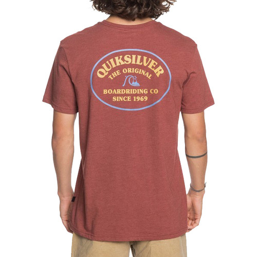 Quiksilver Tee Shirt - Loose Ends - Henna