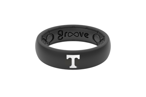 Groove Life Ring - NCAA Thin Black/White - Tennessee