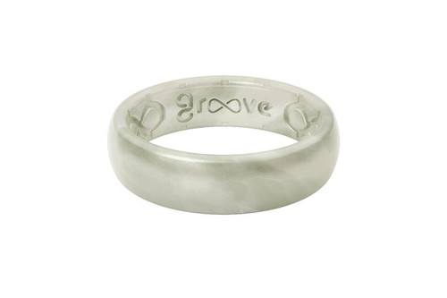 Groove Life Ring - Solid Thin - Pearl