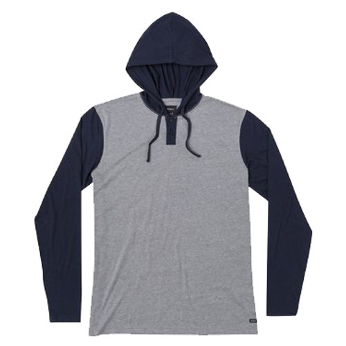 RVCA Hoody - Pick Up II - Navy/Grey