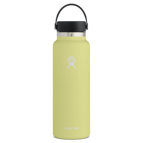 Hydro Flask Bottle - 40 Oz Wide Mouth - Pineapple