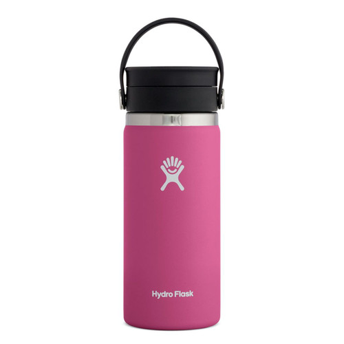 Hydro Flask Bottle - 16 Oz Wide Mouth Flex Lid - Carnation